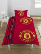 Zap Manchester United Stripe Single Duvet