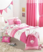 Cupcakes Duvet Cover Set, Pink, Double