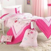 Secret Garden Duvet Cover Set, Pink, Single