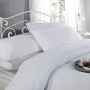 Single Luxury Egyptian Cotton Duvet Cover Set White