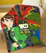 Zap Ben 10 Ultimate Alien Fleece Blanket