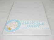Snuggle Baby White Fitted Crib Sheets