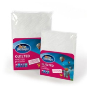 Silentnight Quilted Mattress Protector - Single, White