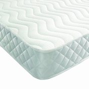 1.2m6 DOUBLE MEMORY FOAM AND REFLEX MATTRESS WITH BORDER MIQRO QUILTED EXCLUSIVE COVER TO BEDZONLINE UK MANUFACTURED