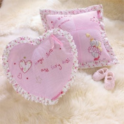 Izziwotnot Humphrey's Corner Lottie Fairy Princess Heart Shaped Filled Cushion