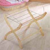 Izziwotnot Wicker Moses Basket Stand, Natural