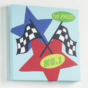 Izziwotnot Pitstop Canvas Wall Art, Winner
