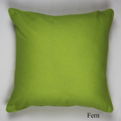 Luxury 100% Cotton Plain dyed Cushion Covers, Lime 45X45cm