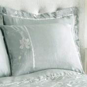 Charlotte Thomas Alexandria Oxford Pillow Case, Teal/Steel Grey