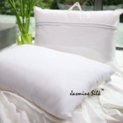 Luxury Soft 50% Mulberry Silk and 50% Polyester Core Filled Silk Pillow