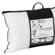 Surrey Down Company White Goose Feather And Down Square Pillow