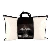 Surrey Down Company Canadian White Snow Goose Down Bolster Pillow, 48cm x 90cm