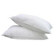 Anti-Allergy Twin Pack (2) Pillows,Polyester Filled,Anti-Dustmite
