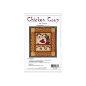 Chicken Coop Quilt Kit-33cm X 38cm