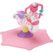 Fisher-Price Go Baby Go! Bounce & Spin Zebra Pink