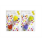 Fun Rattle - First Steps - Priced Each - Picture Shows Colours Available