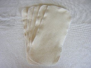 Easy Peasy Nappies Hemp Nappy Booster Insert Pack 5