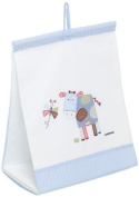Cambrass Nappy Stacker with Applique Designer Cow