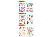 Self Adhesive Pre Cut Christmas / Xmas Room Decorations Stickers (Home Art Decoration -wall stickers / wall decals / wall transfers / wall tattoos / wall sticker ) *Only ONE Design Supply*