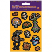 Beistle Beistle 04004 Day Of The Dead Stickers