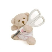 Teddy Nail Scissors Pink