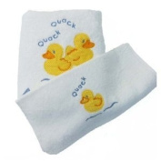 Childrens Duck Towel (WHITE)