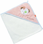 Fehn Beauty Sleep Teddy Hooded Bath Towel