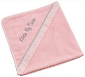 Be Be's Collection - hooded towel - little big boss - pink 80x80