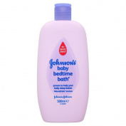 Johnson's 500ml Baby Bedtime Bath - Pack of 2