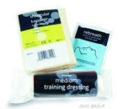REL 980 Training First Aid Pack non-sterile re-useable.