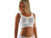 Carriwell Seamless Maternity Bra White Medium [Baby Product]