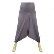Small Size Cotton Hosiery Afghani Pant with Elastic Waist for Women