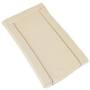 By Carla Standard Changing Mat, White Polka Dot On Beige
