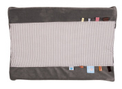 Snooze Baby Organic Hippo Grey Changing Mat Cover