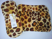 Easy Peasy Fleece Nappy Liners Pk 15 Leopard Print Microfleece