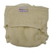 Nature Babies Diddy Nappy with Nippa Fastening Washable Nappy