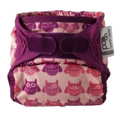 Close Pop-In + Owl Bamboo Single Nappy