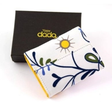 Yippydada Funky Wallet in Gift Box (Yellow Floral)