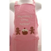 CHILDREN KIDS APRON PINK NANA'S LITTLE HELPER APRON APRONS KIDS