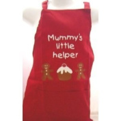 CHILDREN KIDS APRON RED NANA'S LITTLE HELPER APRON APRONS KIDS