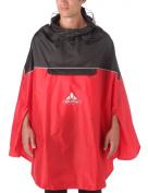Vaude Covero Poncho II red Rain coat mens