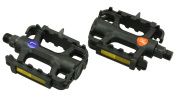 Rolson 43217 Bicycle Pedals - Black