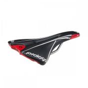 Prologo Kappa Evo Pas Semi-round Bike Saddle W/ T2 Rails White/black 141MM