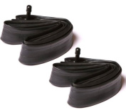 2x Sunchase 18x1.75-2.125 Bicycle Inner Tube with Schrader Valve