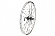 Tru-build Wheels RGR855W Rear Disc Wheel - White, 70cm