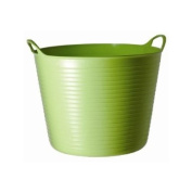 Tubtrug Flexible Medium (choose from colours blue, green, orange, pink, pistachio, purple, red, sky blue or yellow) - ideal for feed and water. Can also be used for grooming kits and mucking out