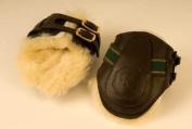 Rhinegold Leather Fetlock Horse Boots