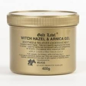 Gold Label Witch Hazel & Arnica Gel, 400g - Cooling to the skin