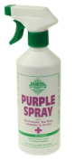 Barrier Purple Spray (500ml) - Antibacterial, antifungal, antiviral spray for wounds, cuts, abrasions bites etc.