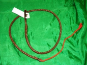 1 Yard Replacement Genuine Leather Beaufort Hunting Crop/Whip Thong & Lash UK Made